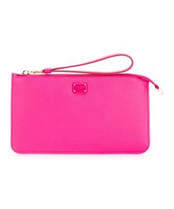 Dolce & Gabbana | Wristlet Clutch Leather