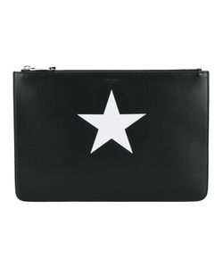 Givenchy | Star Print Pouch Calf Leather/Cotton