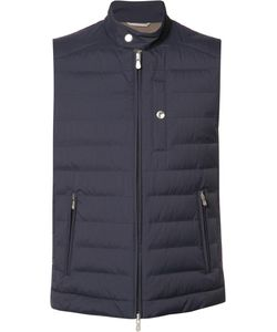 Brunello Cucinelli | Zip Up Padded Jacket Large Nylon