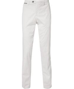 Eleventy | Classic Straight-Leg Trousers 34 Cotton/Spandex/Elastane