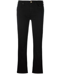 7 for all mankind | Cropped Bootcut Jeans 26 Modal/Cotton/Polyester/Spandex/Elastane 7 For All