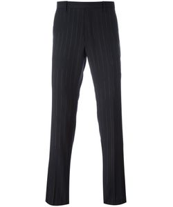 Maison Margiela | Pinstripe Straight Leg Trousers 48 Virgin