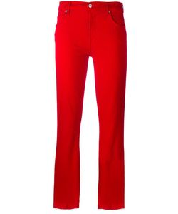 7 for all mankind | Cropped Trousers 29 Cotton/Polyester/Spandex/Elastane