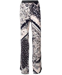 Just Cavalli | Elasticated Waistband Printed Trousers 40 Viscose/Polyester