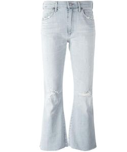 Citizens of Humanity   Distressed Flared Jeans 26 Cotton/Polyurethane