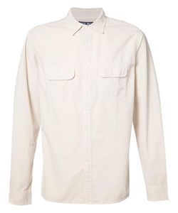 ALEX MILL | Front Pockets Plain Shirt Small Cotton