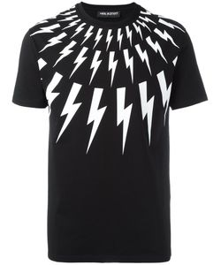 Neil Barrett | Lightning Bolt T-Shirt Small Cotton