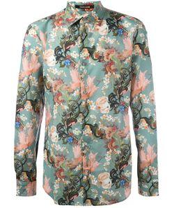 Roberto Cavalli | Asian Garden Print Shirt 40 Cotton