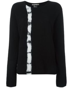 SUZUSAN | Tie Dye Stripe Jumper Medium Cashmere