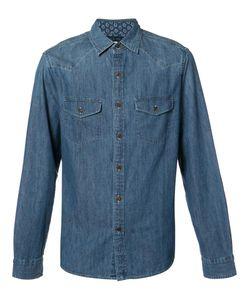 ALEX MILL | Classic Denim Shirt Medium Cotton