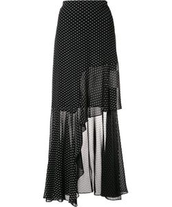 ROSETTA GETTY | Spiral Ruffled Skirt 4 Polyester/Viscose