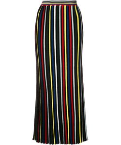 ROSETTA GETTY | Pleated Striped Skirt 1 Merino