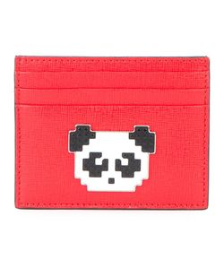 Les petits joueurs | Panda Open Cardholder Calf Leather