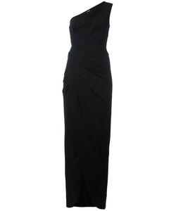 Michael Kors | One Shoulder Evening Dress 10 Rayon/Spandex/Elastane/Acetate/Cupro