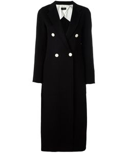 Joseph | Buttoned Long Coat 36 Wool/Cashmere/Viscose/Cotton