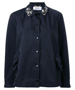 Muveil | Embellished Collar Jacket 38 Polyester