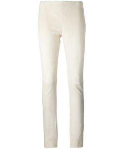 Joseph | Panelled Leggings 38 Lamb Skin/Cotton/Spandex/Elastane
