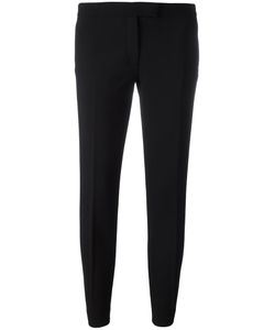 Joseph | Tailored Cropped Trousers 42 Virgin Wool/Spandex/Elastane/Polyester/Acetate