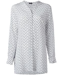 Joseph | Bird Pattern Shirt 36 Silk
