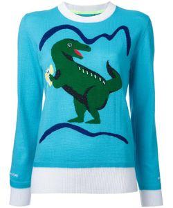 Muveil | Dinosaur Intarsia Jumper 38 Wool