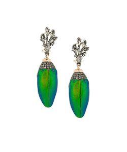 Bibi Van Der Velden | Scarab Bunch Earrings