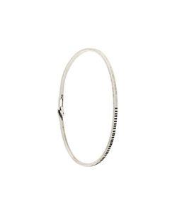 WERKSTATT:M NCHEN   Werkstattmünchen Pinhole Bracelet Adult Unisex Large