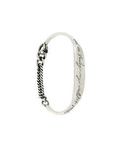 WERKSTATT:M NCHEN | Slogan Inset Bracelet Adult Unisex Large Werkstattmünchen