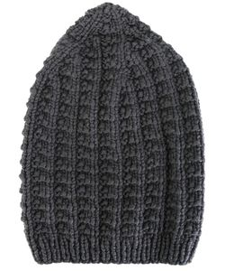 WERKSTATT:M NCHEN   Werkstattmünchen Cap Scales Button Adult Unisex Cashmere