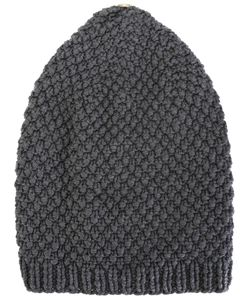 WERKSTATT:M NCHEN | Werkstattmünchen Cap Moss Button Adult Unisex Cashmere