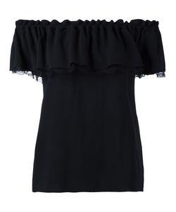 Michael Kors | Ruffled Blouse Medium Silk
