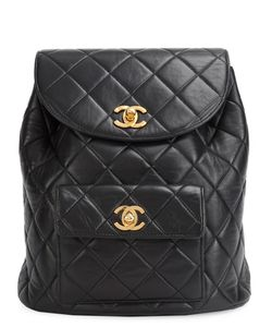 Chanel Vintage | Mini Cc Quilted Backpack
