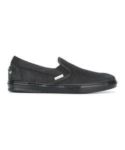 Jimmy Choo | Grove Sneakers 42 Leather/Calf Suede/Rubber/Metal
