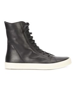 Rick Owens | Hi-Top Sneakers 42.5 Leather/Rubber
