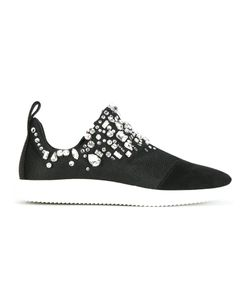 Giuseppe Zanotti Design | Stone Embellished Slip-On Sneakers 38