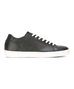 Leather Crown | Perforated Detailing Sneakers 41 Leather/Cotton/Rubber