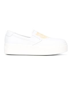 Kenzo | K-Py Tiger Sneakers 39 Calf Leather/Leather/Rubber