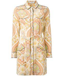 COACH | Printed Shirt Dress 0 Silk
