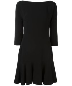 Dolce & Gabbana | Peplum Hem Dress 38 Viscose/Acetate/Spandex/Elastane/Silk