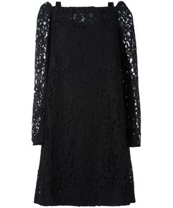 See By Chloe | See By Chloé Cut Out Shoulder Lace Dress 40