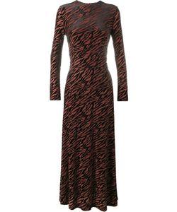 Ganni | Tiger Print Dress 36 Polyester/Polyamide/Spandex/Elastane