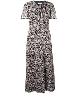 Saint Laurent | Print Dress 36 Silk