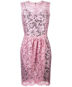 Dolce & Gabbana | Tulip Lace Dress 40 Viscose/Polyamide/Spandex/Elastane/Cotton