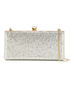 Jimmy Choo | Celeste Clutch Satin/Metal/Lurex