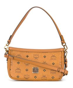 MCM | Logo Print Shoulder Bag Leather