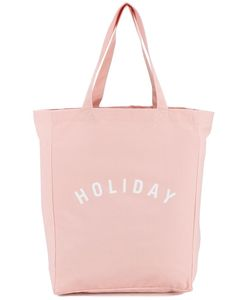 Holiday | Canvas Logo Tote Cotton