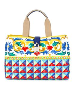 Dolce & Gabbana | Mambo Print Shopper Tote Polyester/Leather