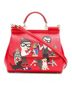 Dolce & Gabbana | Designers Patch Sicily Tote Leather