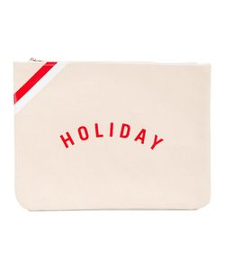 Holiday | Logo Pouch Linen/Flax