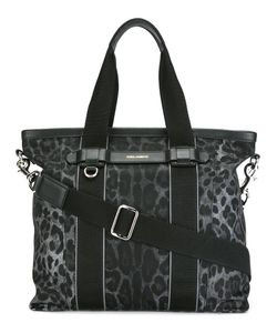 Dolce & Gabbana | Leopard Print Shopper Calf Leather/Polyamide