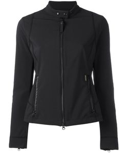 Woolrich | Banded Collar Zipped Jacket Small Polyester/Spandex/Elastane